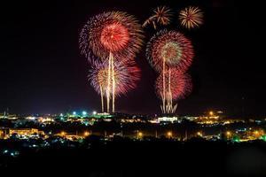 il grande festival dei fuochi d'artificio foto