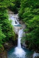 valle di Nishizawa a yamanashi, in Giappone foto