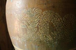 Dragone dorato foto