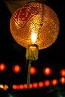 lampada rossa cinese foto