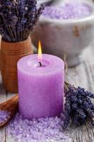 candela viola foto