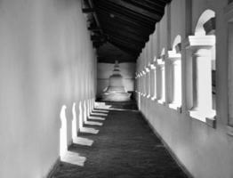 Tempio delle caverne di Dambulla in Sri Lanka foto