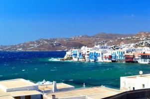 mykonos, grecia foto