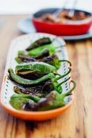peperoni verdi grigliati
