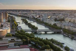 panorama di Parigi foto