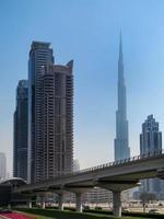 paesaggio urbano di Dubai foto