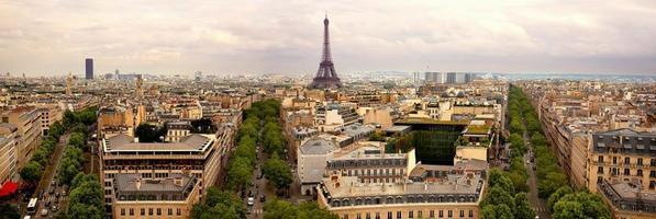 Parigi panoramica foto