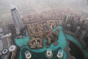 vista di Dubai foto