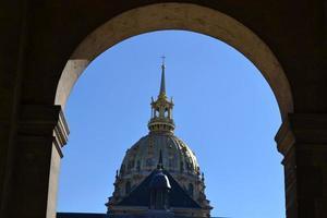 all'interno di Les Invalides a Parigi