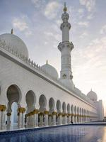 moschea dello sceicco zayed bin sultan al nahyan foto