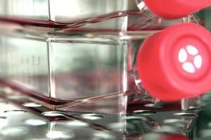 ricerca scientifica con un pallone da coltura f foto