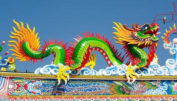 costruzioni e cultura asiatiche dei templi del tempiale cinese foto