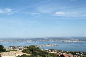 la città di sète, in francia foto