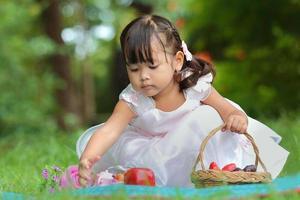ragazza asiatica foto