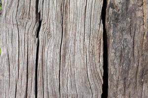 vecchi pannelli di legno grunge utilizzati come sfondo foto