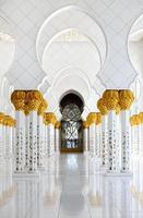 Abu Dhabi. moschea dello sceicco zayed foto