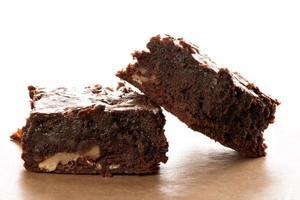 brownies di frisch gebackene foto