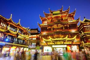 distretto di Yuyuan di Shanghai in Cina