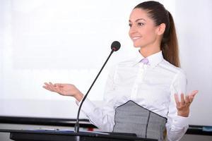 conferenza d'affari foto