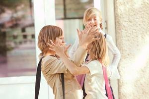 tre studentesse foto