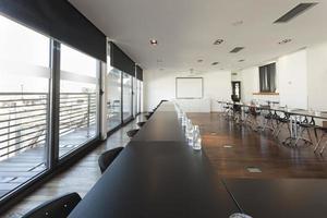 interno moderno della sala per conferenze foto