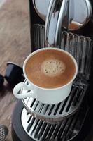 caffè espresso. foto