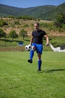 giocatore di calcio foto