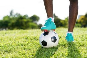 calcio d'inizio foto