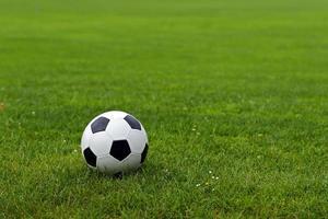 pallone da calcio in pelle foto