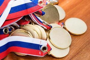 medaglie d'oro foto