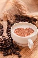 caffè fresco foto