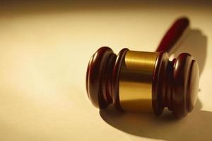 giudice o banditori martelletto di legno