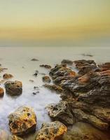 bellissimo paesaggio marino foto