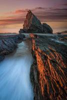 roccia dell'elefante sulla costa d'oro foto