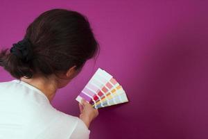 selezionando il colore foto