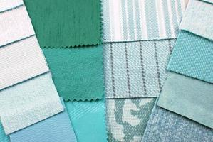selezione di design di colore verde menta foto