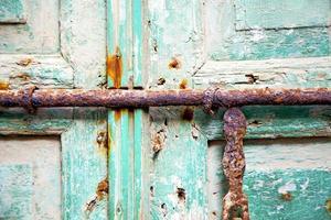 Marocco in Africa il vecchio verde foto