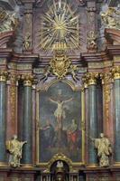 interno del tempio dell'ordine dei gesuiti foto