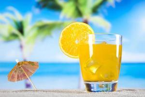 bevanda da cocktail all'arancia foto