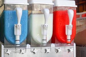 distributore di bevande congelate foto