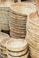 prodotti di bambù in vendita foto