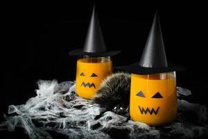bevanda di halloween succo di zucca foto