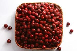 rosso ciliegia con gocce