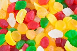 assortimento di caramelle sullo sfondo foto