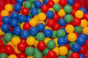 pozzo della sfera di colore