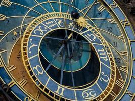 orologio astronomico di Praga (orloj) nella città vecchia di praga