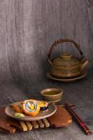 set per bere sushi e tè