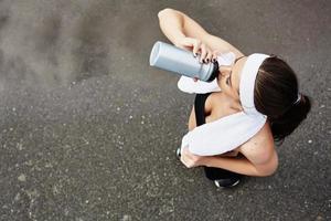 rinfrescante dopo l'allenamento