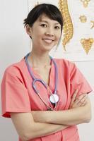 medico che lavora foto