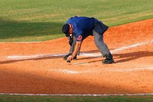 arbitro di baseball foto